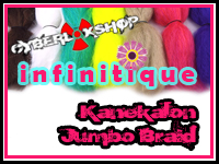 CyberloxShop Infinitique Kanekalon Jumbo Braid
