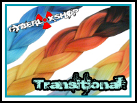 CyberloxShop Transitional Kanekalon Jumbo Braid