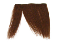 "Clip-In Fringe - 8"" Human Hair - #33 Dark Auburn"