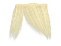"Clip-In Fringe - 8"" Human Hair - #60 Light Blonde"