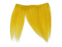 """Clip-In Fringe - 8"""" Human Hair - Yellow"""