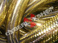 Tubular Crin - Large - Antique Gold Metallic (5 yds)