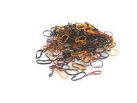 Pack of 250 Mini Polyurethane Bands (Browns)