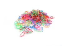 Pack of 250 Mini Polyurethane Bands (Neon)
