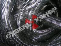 Tubular Crin - Large - Black Non-Metallic (5 yds)
