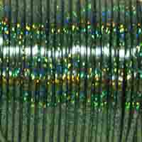 Britelace - 50 Yard Spool - Green Holographic