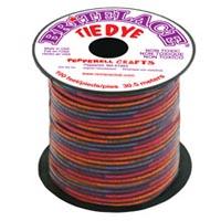 Britelace - 100 Ft Spool - Clear Red Tye Dye