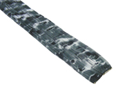 "Clip-In Extensions - Black Camo 12"" (pack of 2)"