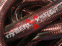 Tubular Crin - Large - Cocoa Metallic (5 yds)