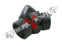 Cyber Respirator - Black (2 Canisters, 2 Valves)