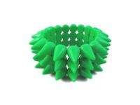 Cyber Spike Bracelet - Neon Green