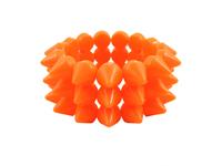 Cyber Spike Bracelet - Neon Orange