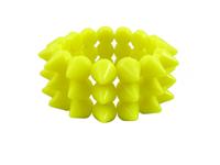 Cyber Spike Bracelet - Neon Yellow