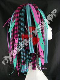 DuoWeb - Pink / Aqua Cyberlox