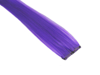 "Clip-In Extensions - Neon Purple 12"" (pack of 2)"