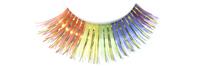 Stargazer False Eyelashes #01 (Rainbow with Gold Foil)