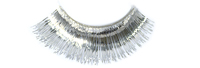 Stargazer False Eyelashes #12 (Silver Foil)