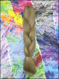 CyberloxShop Infinitique Kanekalon Jumbo Braid - #24 Natural Blonde