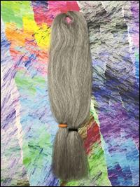 Jazzy Kanekalon Jumbo Braid - #51 Steel Grey
