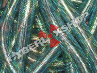 Tubular Crin - Large - Petrol Metallic (5 yds)
