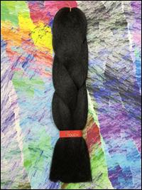 LA Trend Kanekalon Jumbo Braid - #1B Off Black