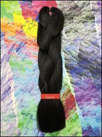 LA Trend Kanekalon Jumbo Braid - #2 Darkest Brown