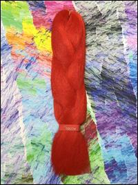 LA Trend Kanekalon Jumbo Braid - Red