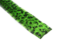 "Clip-In Extensions - Neon Green / Black Leopard 12"" (pack of 2)"