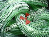 Tubular Crin - Large - Lime Metallic (5 yds)