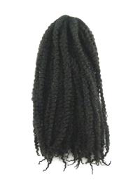 CyberloxShop Marley Braid Afro Kinky - #2 Darkest Brown