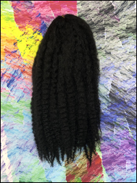 CyberloxShop Marley Braid Afro Kinky - #1B Off Black