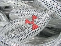 Tubular Crin - Mini - Silver Metallic (5 yds)