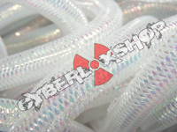 Tubular Crin - Mini - White Opalescent (5 yds)