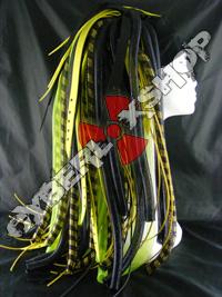 Neon YellowWeb Hybrid Cyberlox Wig
