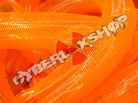 Tubular Crin - Large - Neon Orange Non-Metallic (5 yds)