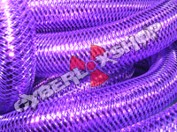 Tubular Crin - Large - Purple Metallic (5 yds)