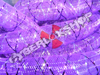Tubular Crin - Large - Purple Non-Metallic with Thread (5 yds)