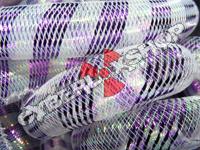 Tubular Crin - Large - Purple Opal Stripe (5 yds)