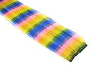 """Clip-In Extensions - Rainbow Stripe 12"""" (pack of 2)"""