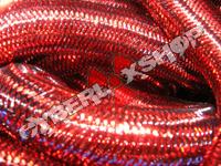Tubular Crin - Large - Red Metallic (5 yds)
