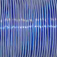 Rexlace - 100 Yard Spool - Treslace Clear Blue / White / Clear Purple