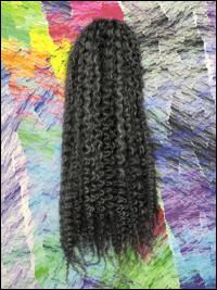 CyberloxShop Marley Braid Afro Kinky - #44 Gun Metal Grey (Silky)