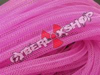 Tubular Crin - Skinny - Pink Non-Metallic (10m Offcuts)