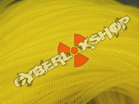 Tubular Crin - Skinny - Yellow Non-Metallic (10m Offcuts)