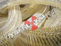 Tubular Crin - Large - Soft Gold Metallic (5 yds)