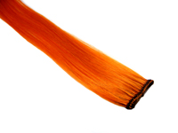 "Clip-In Extension - Orange 18"" (single)"