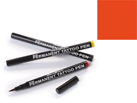 Stargazer Semi-Permanent Tattoo Pen - #11 Orange