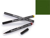 Stargazer Semi-Permanent Tattoo Pen - #6 Dark Green