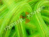 Tubular Crin - Large - Neon Green Opalescent (5 yds)