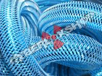 Tubular Crin - Large - Turquoise Metallic (5 yds)